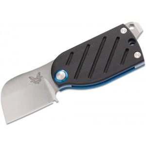 "Benchmade Famin/Demongivert Aller Friction Folding Knife 1.6"" S30V Satin Plain Blade, Black G10 Handles - 380 on Sale"